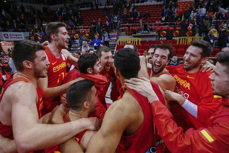 79-67 Zaragoza vive con España otra noche espectacular