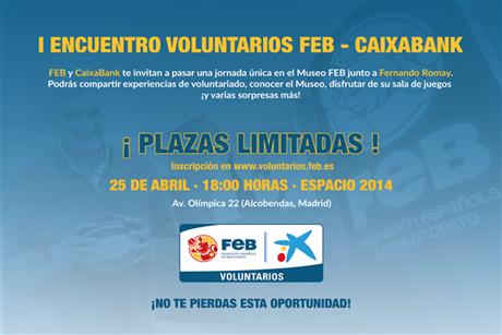 I Encuentro Voluntarios FEB – CaixaBank