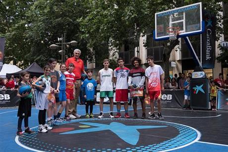 Córdoba vibra con el arranque del Plaza 3x3 CaixaBank 2018