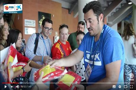 Vídeo Voluntarios FEB CaixaBank en Málaga