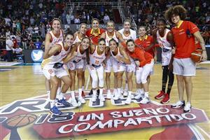 82-56 | España aprovecha cada minuto de juego