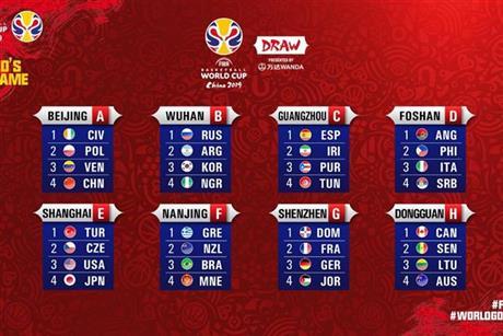 España debutará el 31 de agosto contra Túnez