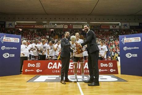 J.2: SparCitylift Girona, excelso campeón en Fontajau (73-65)