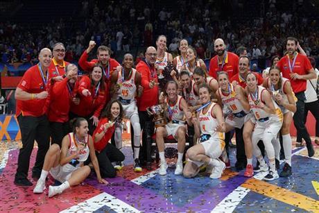 86 - 66 | Eterna España: doblega a Francia y repite oro en el Eurobasket