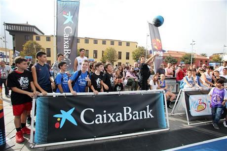 Plaza 3x3 CaixaBank 2017: 1.700 equipos y 40.000 asistentes