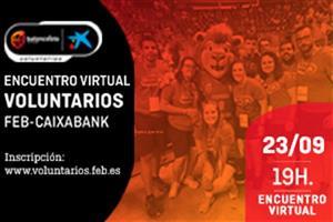 Encuentro Virtual Voluntarios FEB-CaixaBank - 23 de septiembre